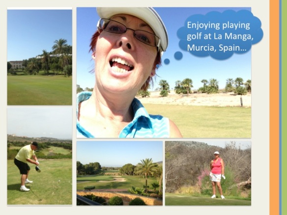 The Wisdom of Golf... at La Manga...