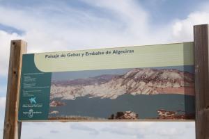 Paisaje de Gebas y Embalse de Algeciras